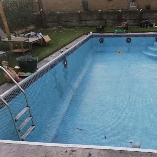Rehabilitació i construcció de piscines